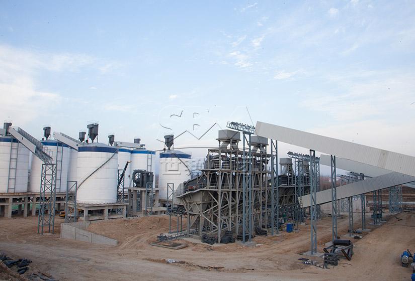 河南时产1500吨矿山废石再加工高品质机制砂项目