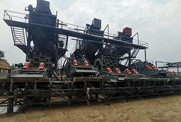 江西时产300吨钾钠长石破碎制砂生产线