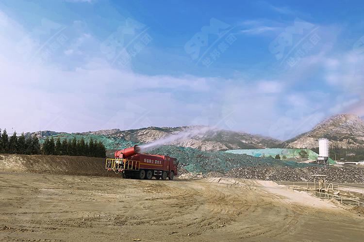 山东年产200万吨固废破碎制砂生产线