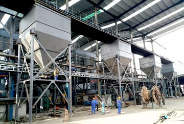 内蒙古时产27吨有机化肥生产线
