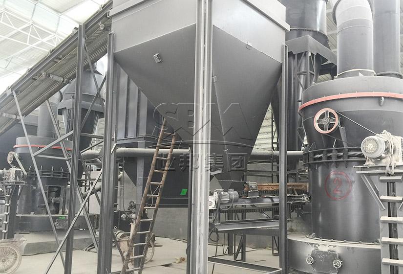 宜兴时产5吨陶土制陶磨粉生产线