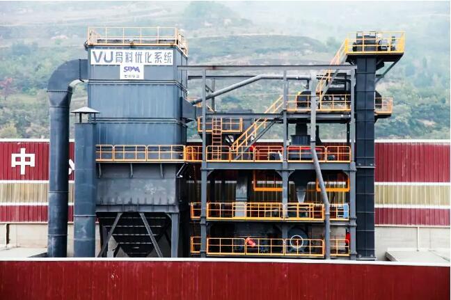 扩建:华建新添VU系统打造精品骨料砂石生产线